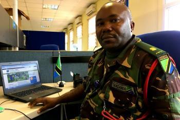 Meja Raphael Paschal, mchambuzi wa taarifa za wakimbizi wa ndani, UNMISS. (Picha:UNMISS)