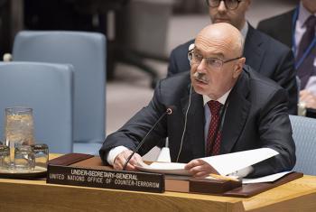 Mkuu wa ofisi ya Umoja wa Mataifa ya kukabili ugaidi Vladimir Voronkov . (Picha:UN/Eskinder Debebe)