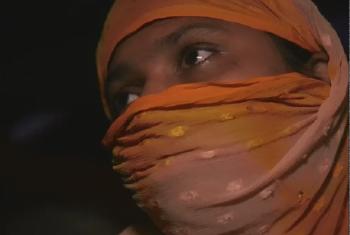 Khadija, msichana MRohingya mwenye umri wa miaka 16 anasimulia kilichomkuta kabla ya kukimbia. Picha: UM/Video capture