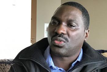 James Ndeda, mmoja wa wahanga wa tukio la kigaidi nchini Kenya mwaka 1998. Picha: UM/Idhaa ya Kiswahili