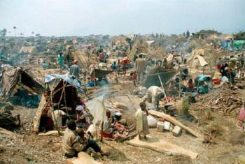 Wakimbizi wa ndani nchini Rwanda. Picha: UNHCR