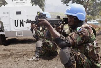 Walinda amani wa Tanzania kwenye kikosi cha kujibu mashambulizi, (FIB) cha ujumbe wa Umoja wa Mataifa huko DRC, MONUSCO. (Picha:MONUSCO/Force)