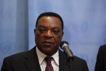 Balozi Augustine Mahiga-Waziri wa Mambo ya Nje wa Tanzania. (Picha:UN/Aliza Eliazarov)
