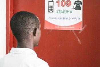 Mfumo wa kupiga simu namba 109 umesaidia kuokoa watu wanaotumbukia kwenye vitendo vya utekwaji nyara nchini Burundi. (Picha:https://goo.gl/c3Zwnz)