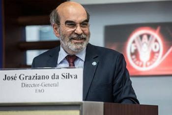 Mkurugenzi Mkuu wa shirika la chakula na kilimo duniani, FAO José Graziano da Silva. Picha: FAO