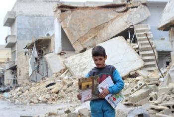 Mtoto nchini Syria- Picha-UNICEF