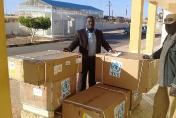 WHO yatoa msaada wa vifaa vya tiba Libya. Picha: UNSMIL