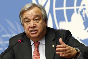 Katibu mkuu Antonio Guterres. Picha: UM