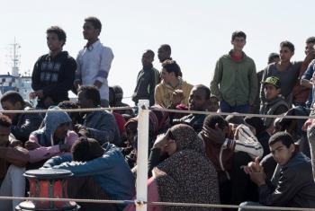 Wakimbizi wa Eritrea, Sudan na Egypt wakimbia nchi zao kuelekea nchi jirani ikiwemo Syria. Picha: UNHCR