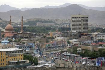 Taswira ya Kabul, mji mkuu wa Afghanistan. (Picha:UNAMA/Fardin Waezi)