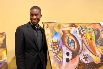 Msanii Kenneth Malomba kutoka Malawi.