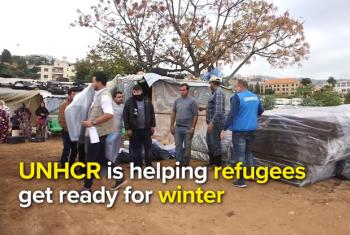 Wakimbizi wa Syria walioko Lebanon. Picha: UNHCR/Video capture
