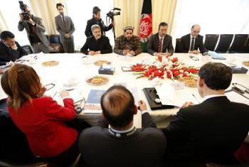 Wajumbe wa baraza la Usalama la Umoja wa mataifa ziarani nchini Afghanistan. Picha: UM