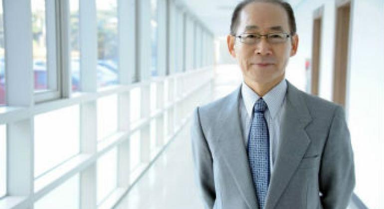 韩国高丽大学教授李会晟。联合国政府间气候变化专门委员会图片。
