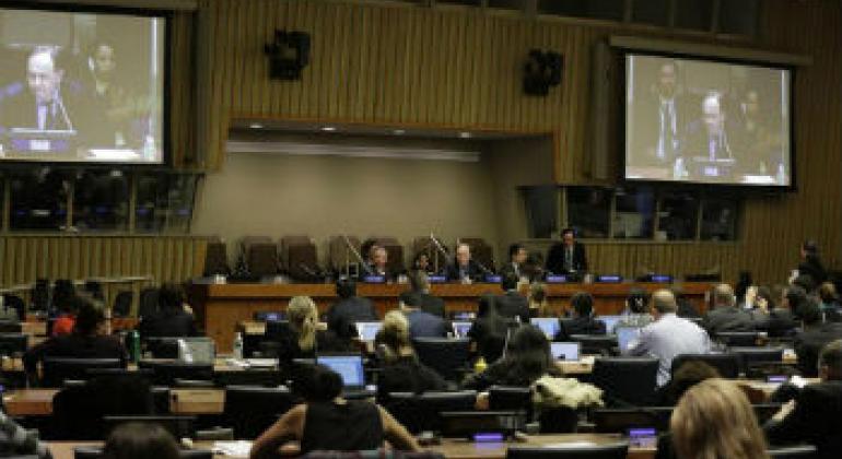 安理会特别会议现场图片。联合国图片/Evan Schneider
