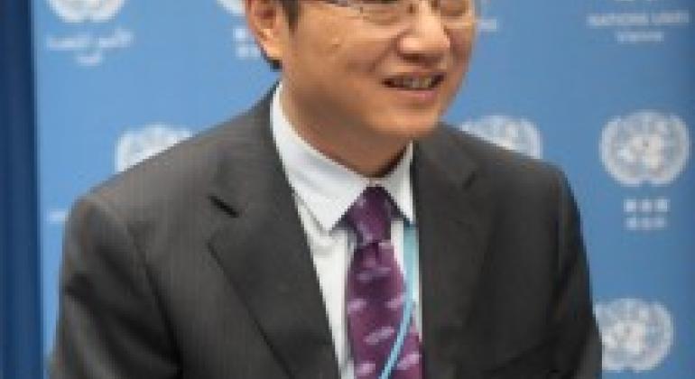 中国常驻联合国维也纳办事处和其他国际机构代表史忠俊大使。中国常驻维也纳代表团图片