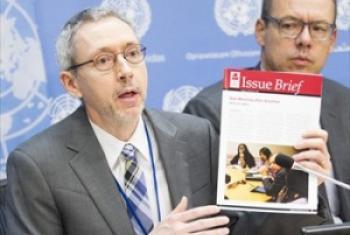 《2015年小武器调查报告》发布会 联合国图片/Rick Bajornas