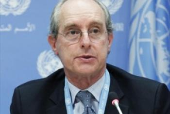 联合国雇佣军问题工作组专家加博尔·罗纳 联合国图片