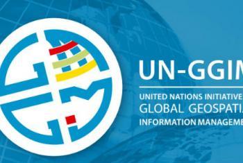 联合国全球地理信息管理专家委员会图标。联合国图片