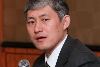 中国气候变化减排知名专家姜克隽。联合国电台图片。