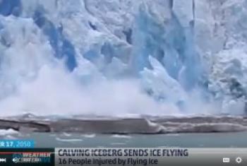 世界气象组织视频截图