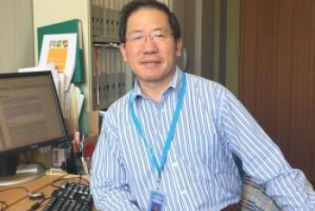 世界卫生组织专家邵瑞太博士 图片提供:邵瑞太