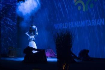 伊斯坦布尔峰会开幕式现场。联合国图片/Eskinder Debebe