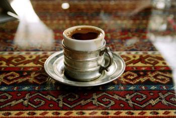 一杯土耳其咖啡。世界银行图片