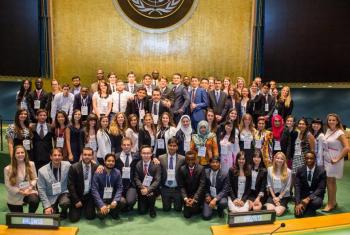 联合国学术影响力官方推特图片