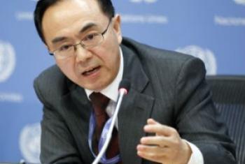 联合国经济与社会事务部发展政策研究司司长洪平凡 联合国图片