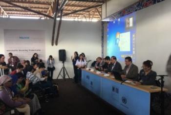 第三届联合国住房和可持续城市发展大会在厄瓜多尔首都基多召开 联合国图片