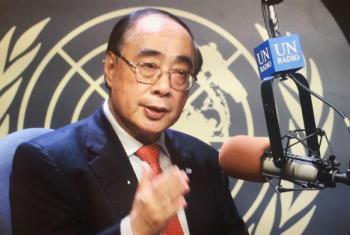 联合国经济和社会事务部副秘书长吴红波 联合国新闻图片/Jane Xie