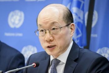 联合国安理会7月轮值主席、中国常驻联合国代表刘结一   联合国新闻图片