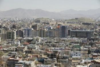 阿富汗首都喀布尔。